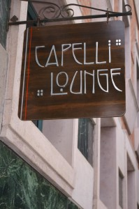 Capelli Lounge sign